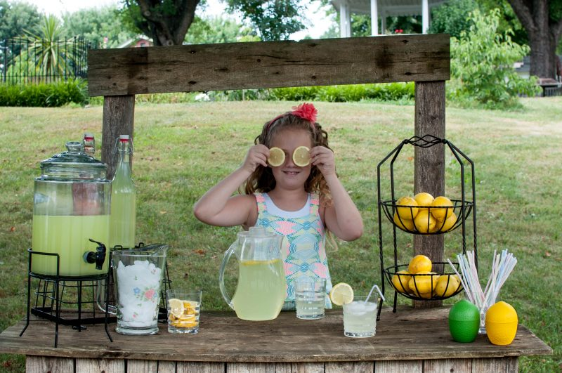 Lemonade Photo Session